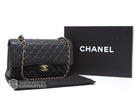 Chanel Black Caviar Medium Double Flap Bag GHW