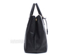 Prada Black XL Saffiano Lux Double Zip Tote
