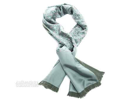 Hermes Ducks Angora and Silk Stole