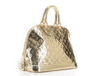 Louis Vuitton Gold Monogram Miroir Alma GM Bag