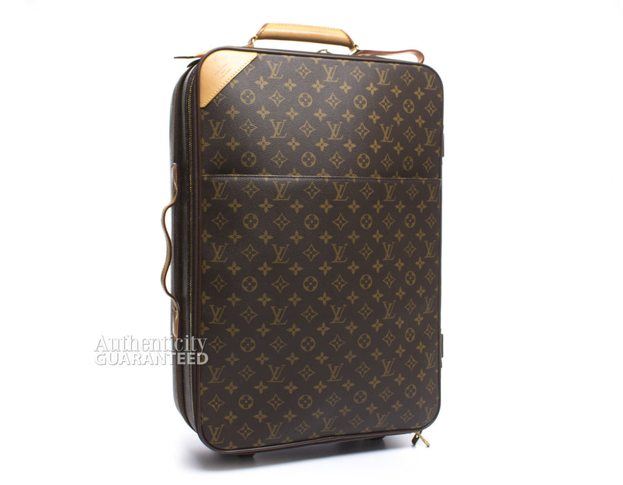 e620b9c6b Louis Vuitton Monogram Canvas Pegase 55 Rolling Suitcase – Bella Bag