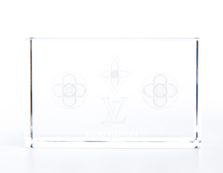 Louis Vuitton VIP Crystal Paperweight