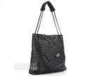 Chanel Runway Black Reissue Multipocket Tote Bag