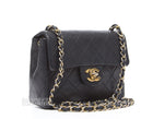 Chanel Black Lambskin Mini Flap Bag GHW