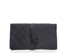 Chanel Black Satin Jewelry Case