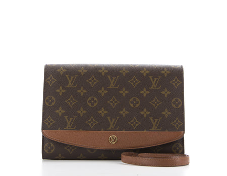 Louis Vuitton Monogram Canvas Bordeaux PM Clutch Bag