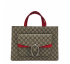 Gucci Dionysus GG Supreme Coated Canvas Tote Bag