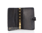 Chanel Black Patent Leather Small Agenda Cover