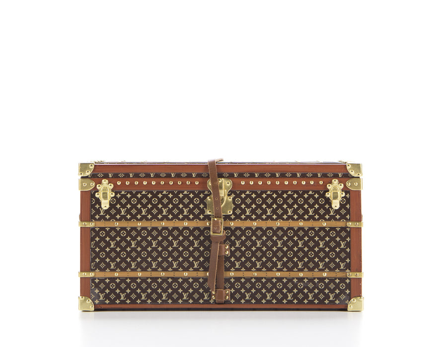 Louis Vuitton Limited Edition Monogram Canvas Trunk Paperweight