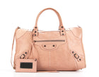 Balenciaga Rose Pink Agneau Work Bag