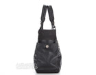 Chanel Black Quilted Paris Biarrtz Tote Bag