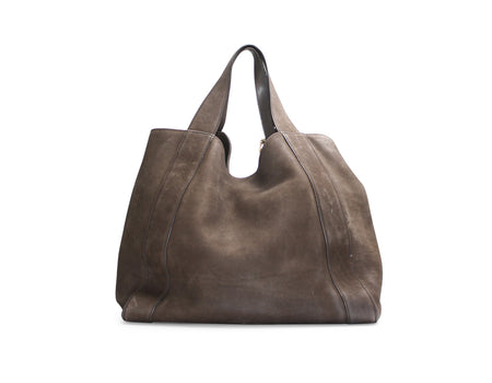 Gucci Chocolate Nubuck Dionysus Ring Stirrup Hobo