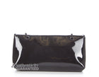 Chanel Beaute Black Faux Patent Leather WOC Wallet On Chain Bag