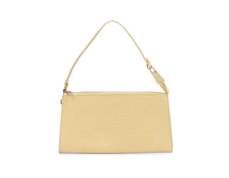 Louis Vuitton Vanilla Epi Pochette Accessories Bag