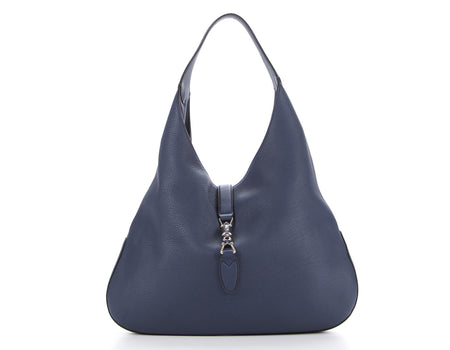 Gucci Caspian Blue Soft Leather Jackie Hobo