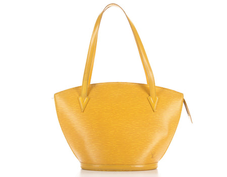 Louis Vuitton Yellow Epi Leather St Jacques GM Bag