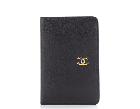 Chanel Black Calfskin Address Book