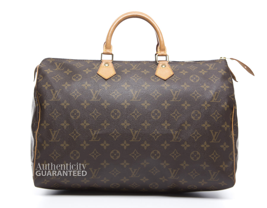 Louis Vuitton Monogram Speedy 40 Bag