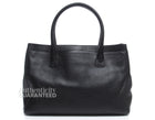 Chanel Black Caviar Executive Cerf Tote Bag