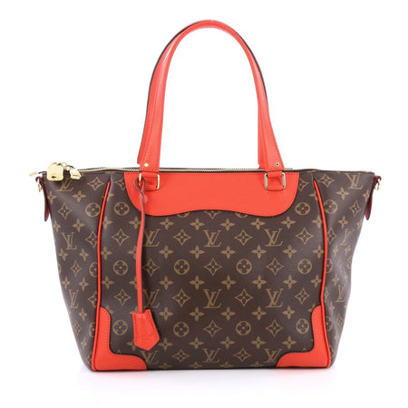 Louis Vuitton Coquelicot Monogram Canvas Estrela GM