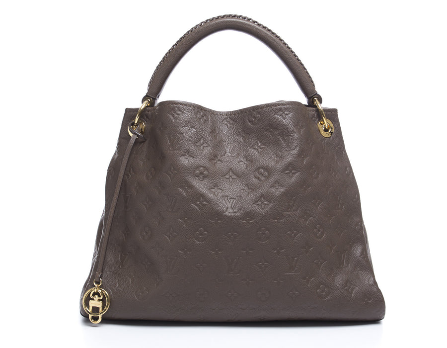 Louis Vuitton Terre Taupe Empreinte Artsy MM Bag