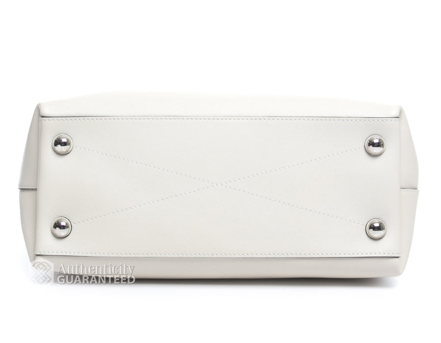 Louis Vuitton Blanc Ivory Bagatelle Hobo Bag