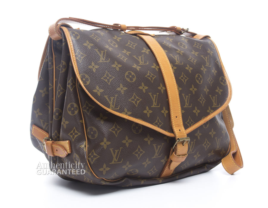 Louis Vuitton Monogram Canvas Saumur 35 Bag