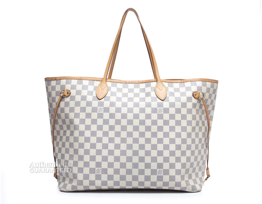 Louis Vuitton Damier Azur Neverfull GM Bag