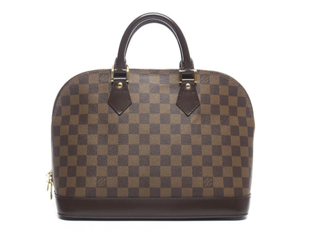 Louis Vuitton Damier Ebene Alma PM Bag