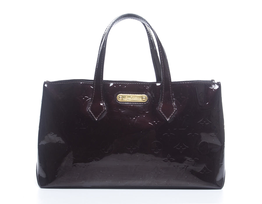 Louis Vuitton Amarante Vernis Wilshire PM Bag