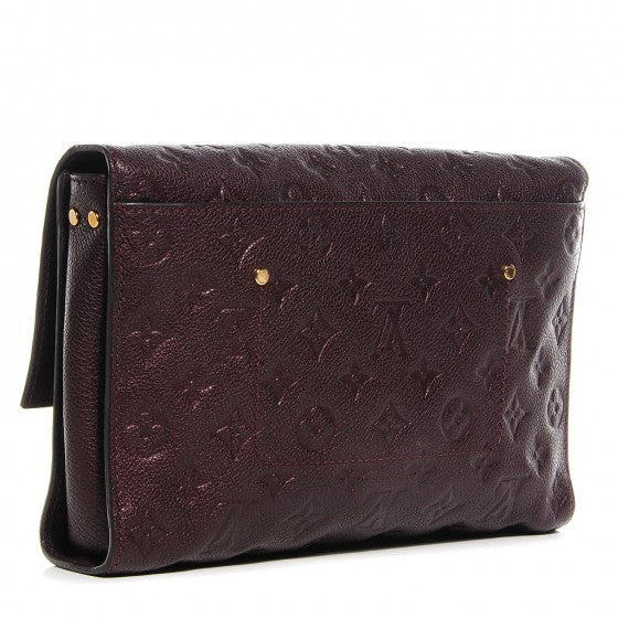 Louis Vuitton Grenat Monogram Empreinte Fascinate Convertible Bag