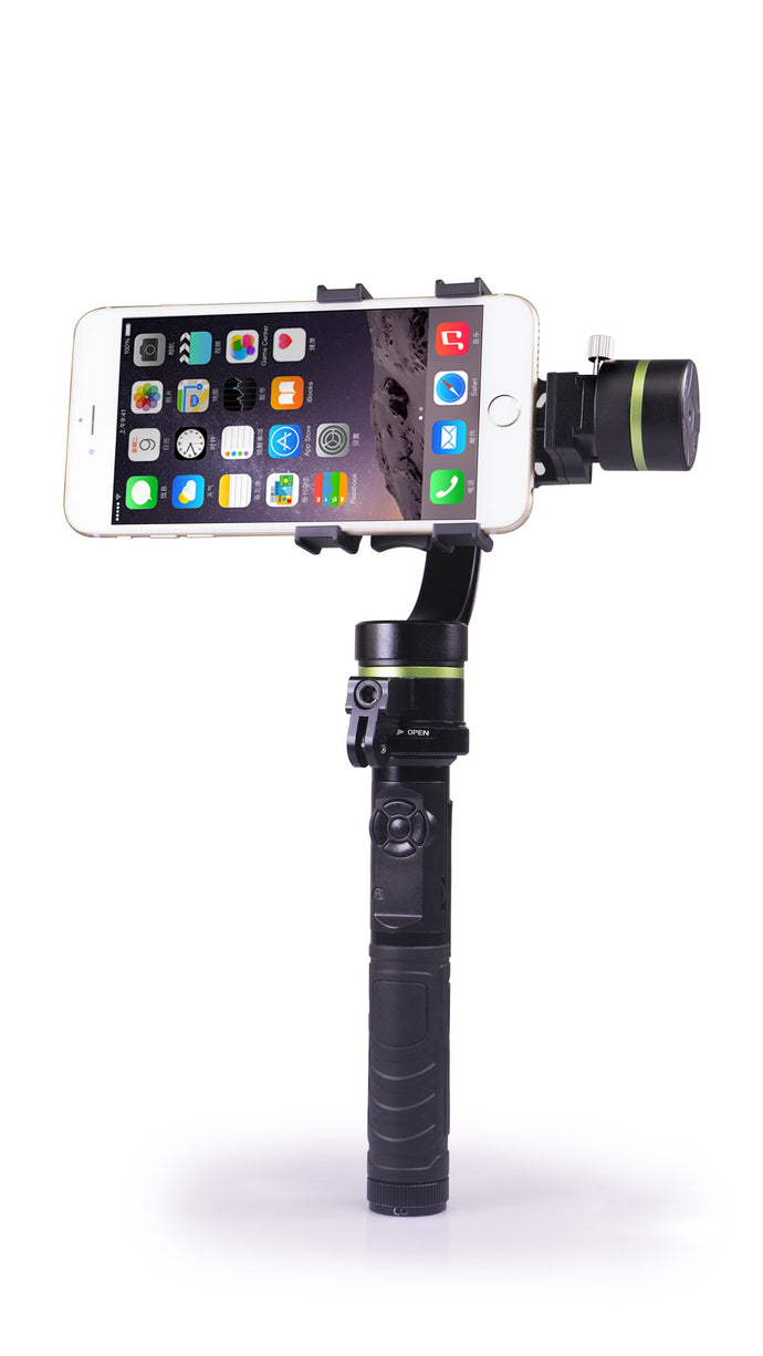 LanParte LA3D-S2 Advanced Handheld Gimbal for iPhone and GoPro