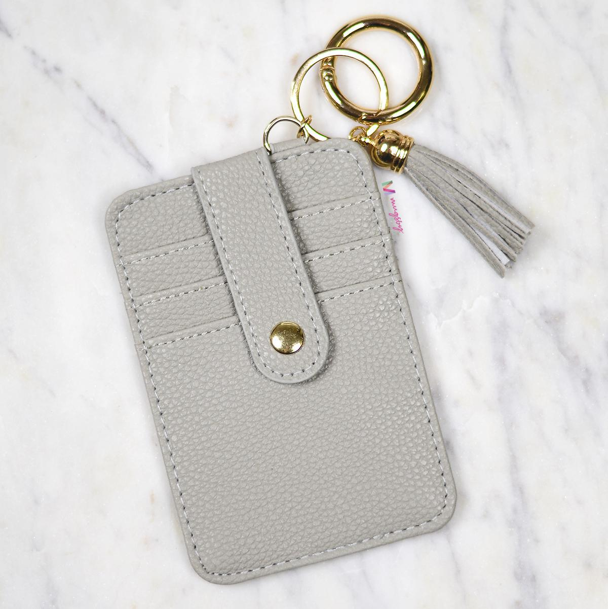 Grey Card Holder, CHW