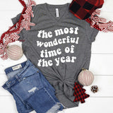 The Most Wonderful Time of the Year Unisex Triblend Shirt