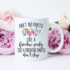 Fricative Party Mug
