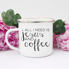 funny jesus and coffee