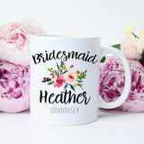 Funny Personalized Bridesmaid Mug