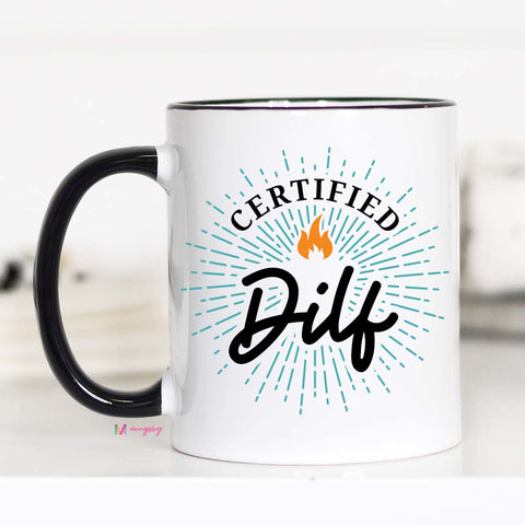 DILF, Father's Day Mug, CM
