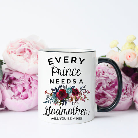 Will You Be My Godmother Mug
