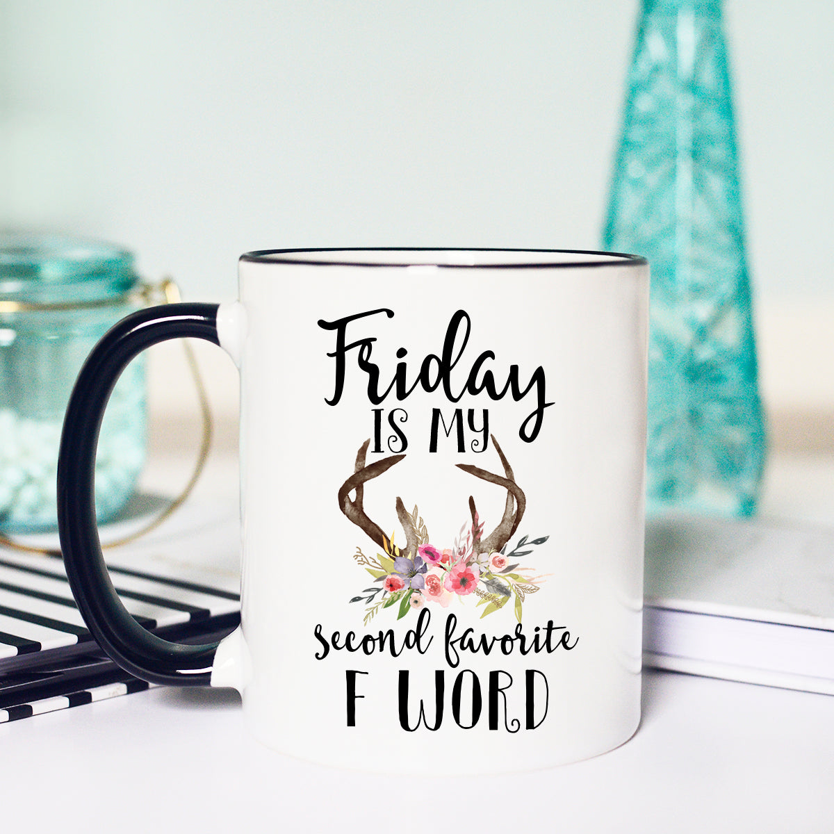Funny Friday mug