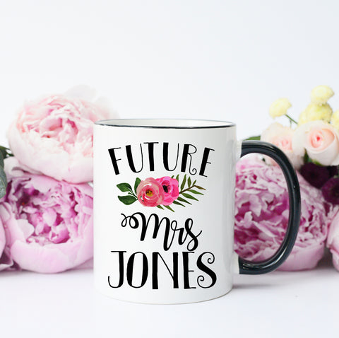 Future Mrs Engaged Mug