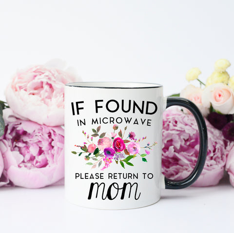 Please Return to Mom Mug