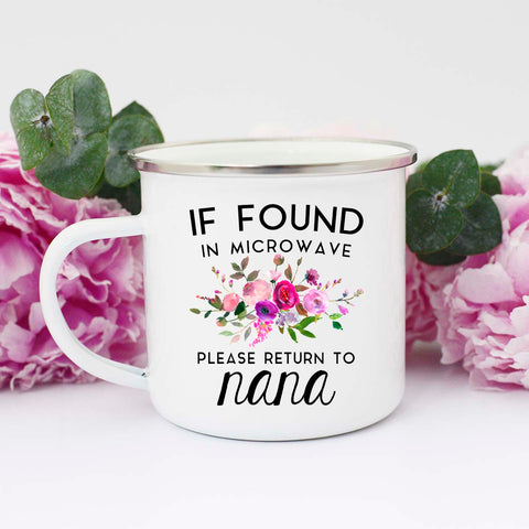 Please Return to Nana Mug