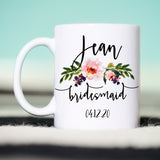 Bridesmaid Proposal Mug, Personalized Bridesmaid Mug, Bridesmaid Gift