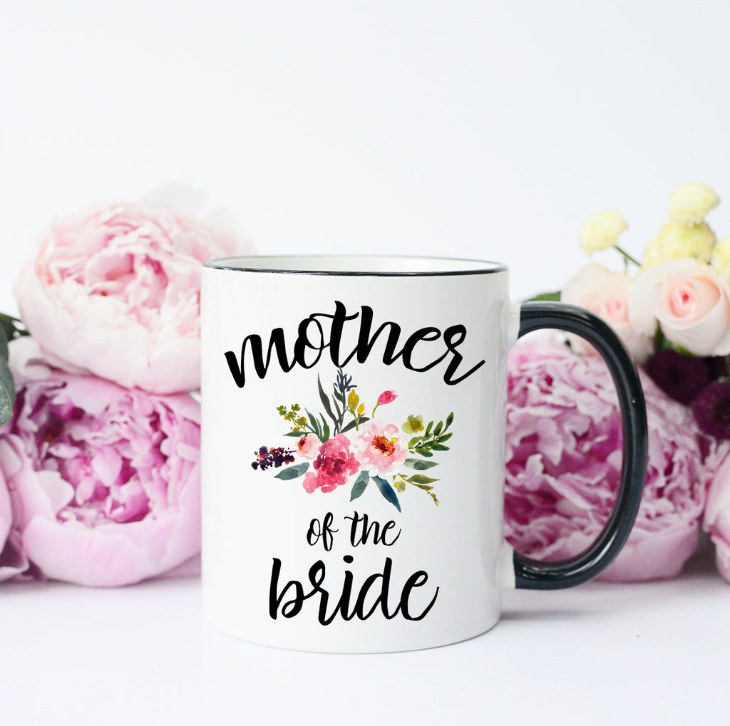 Mother of the Bride Wedding Mug