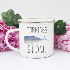 mornings blow mug