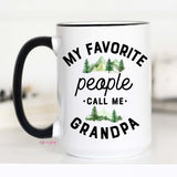Grandpa Mug, My Favorite People Call Me Grandpa, CM