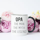 Opa The Math The Myth The Legend Mug