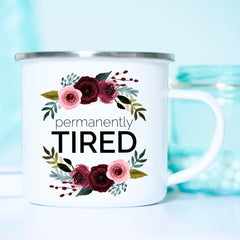funny tired mama mug
