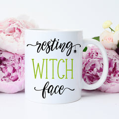 resting witch face gift